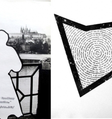 Two artworks from The Czech Dreambook, L. Vaculik