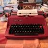 """Typewriter """"consul"""" at home of samizdat typist, J. Vrbova"""