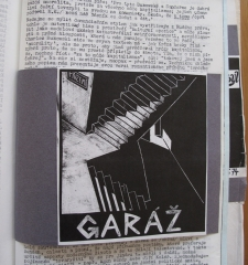 Page for band Garaz (Garage), in Revolver Review