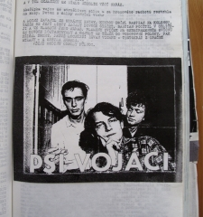 Page for band Psi Vojaci (Dog Soldiers), in Revolver Review