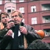 "Documentation of independent public gathering at ""Skroupovo Námestí"", Praha 10.12.1988"