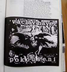 Ad for Vaclav Havel's work in Revolver Review