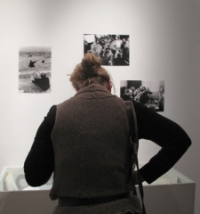 Opening reception at The Czech Center, New York City, Bohemian National Hall, November 9, 2011.