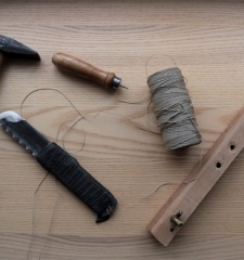 Tools for hand-made bookmaking